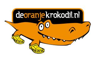 De oranje krokodil
